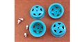 BRM BRMS-086 Wheel Inserts for Ferrari 512M Unpainted
