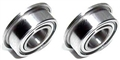 BRM BRMS-410 6mm x 3mm Flanged Bearings x2 for front/rear axle holders