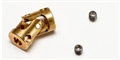 BRM BRMS-414 Brass universal joint for camber system 3mm axle