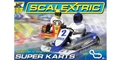 "Scalextric C1334T 1/32 Analog Racing Set ""SUPER KARTS RED VS. BLUE"""