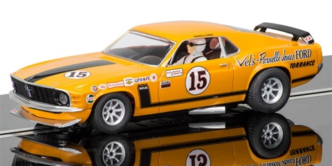 Preorder Scalextric C3651 Ford Mustang Boss 302 T A 15