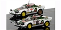 Scalextric C3894A LEGENDS LANCIA STRATOS 1976 RALLY CHAMPIONS TWINPACK - LIMITED EDITION