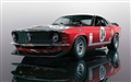 PREORDER Scalextric C3926 FORD MUSTANG BOSS 302 - BRITISH SALOON CAR CHAMPIONSHIP 1970