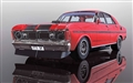 PREORDER Scalextric C3937 FORD FALCON 1970 - CANDY APPLE RED