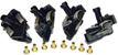 Scalextric C8071 Easy Fit Guides - Black - 4 pcs. / package - for older version cars