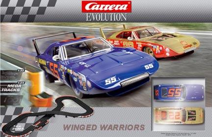 carrera car25186 1 32 evolution winged warriors analog set. Black Bedroom Furniture Sets. Home Design Ideas