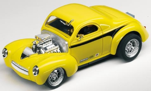 carrera car27267 1 32 39 41 willys coupe yellow black high. Black Bedroom Furniture Sets. Home Design Ideas