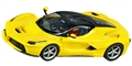 "Carrera CAR27458 Analog 1/32 Ferrari ""LaFerrari"" New Enzo Yellow"