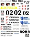 DMC DMC24-110 Waterslide 1/24 Decal - Porsche 911 GT2. ROHR RACING.Exxon Cup 1997
