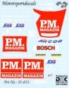 "DMC DMC32-033 Waterslide 1/32 Decal - Opel V8. ""P.M. MAGAZINE"" Black car. DTM 2000"