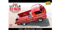 LINDBERG L115 1/25 Little Red Wagon Static Model Car Kit