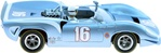 Monogram M4826 Lola T-70 #16 Blue/White