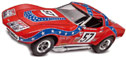 "Revell M4915 1/25 '68 Corvette L88 ""Rebel Racer"" Static Model"