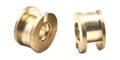 "MBSLOT MB08011 Eccentric Bronze Bushings Dual Flange 3/32"" Axle"