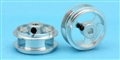"MBSLOT MB19019A 1/32 ""AIR SYSTEM"" Ergal Wheels 17.2mm x 8mm 3/32"" Axle"