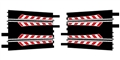 Ninco N10110 Ninco to Scalextric Classic / SCX Adapter Tracks x 2