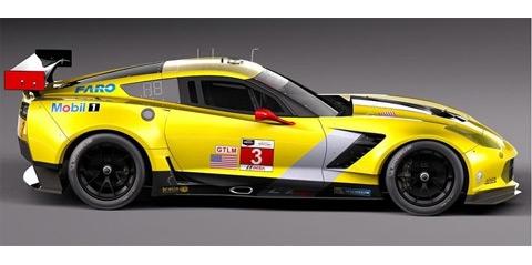 PREORDER NSR NSR11XXC7AW Chevrolet Corvette C7R GTLM #3