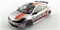 NSR NSR1331 RENAULT CLIO Rally BODY Presentation Livery tampoed & assembled