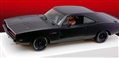 Pioneer P091 Dodge Charger '69 426 Hemi STEALTH 'Stage 2' BLACK