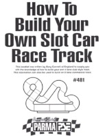 how to build a slot car track booklet parma 481