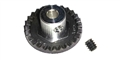 "Professor Motor PMTR1135 27 tooth Cox crown gear 1/8"" axle 48 pitch"
