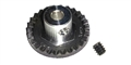"Professor Motor PMTR1136 25 tooth Cox crown gear 1/8"" axle 48 pitch"