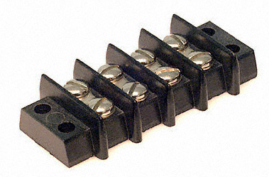 professor motor pmtr1207 4 position heavy duty terminal block for track wiring