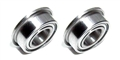 "Pro Slot PS-410 3/32 x 3/16"" Flanged Axle Ball Bearings Sealed"