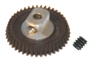 Pro Slot PS-676-43 Polymer Axle Gear 72 Pitch 43T 15 Degree Angled