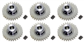 Pro Slot PS-682-27 Polymer Axle Gears 48 Pitch 27 Tooth x 6