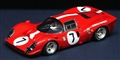 Racer RCR04KP Car kit with painted body - Ferrari 412P 1967 Scuderia Filipinetti