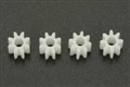 SCALEAUTO SC-1008 BRASS Pinions 8 Tooth for 2mm motor shaft