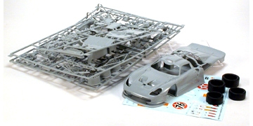 scaleauto sc 7500 1 24 porsche 911 gt1 white body kit. Black Bedroom Furniture Sets. Home Design Ideas