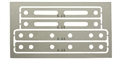 SCALEAUTO SC-8143A Body Spacers 0.25mm for 1/24 Metal Chassis