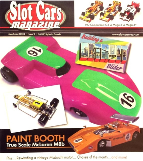 Slot Cars Magazine SCM02 March / April 2015 Issue #2 64 Pages