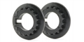 Slot.it SICH100 17 Tooth Pulley for 4WD System - Black  - 2 / card