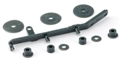 Slot.it SICH98 Transmission belt tension bar kit for 4WD System