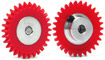 Slot.it SIGA1630-PL Plastic AW Gear Aluminum Hub 30 Teeth 16mm Diameter
