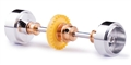Slot.it SIKK01B INLINE Starter Kit 15.8 x 8.2mm Aluminum Wheels Z28 Crown