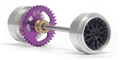 Slot.it SIKK04B Sidewinder Starter Kit 17.3 x 9.75mm Wheels 19mm Spur Gear