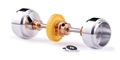 Slot.it SIKK07C Inline Starter Kit Z28 Crown Gear 17.3 x 9.75mm Wheels w/ Spacers