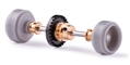 Slot.it SIKK08B Inline Starter Kit 15.8 x 8.2mm PLASTIC Wheels Z27 Crown Gear