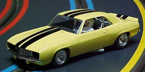 Custom Painted Trans Am Camaro with BWA Wheels - Workmanship by Barry Landau