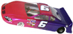 "Champion 110M_CH 1/24 ""Dodge Charger"" NASCAR RTR Car w/Turboflex Chassis"