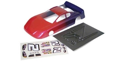 "Champion 247P_CH 1/24 Stock Car Painted & Trimmed .010"" Body with Decal Sheet"