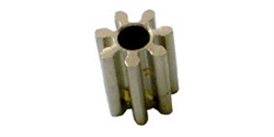 Champion 601As_CH Brass Press On Motor Pinion 7 Tooth