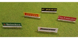 Slot Track Scenics AB3-B Advert Boards version 3 Pack B
