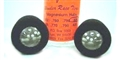 "Alpha ALPD523WR-M Drilled Full Hub MEDIUM Wonder Rubber 0.825"" x 3/32"""