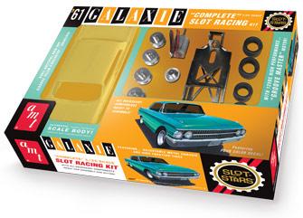 AMT AMT783 1/25 1961 Ford Galaxie SLOT CAR Kit