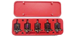 Argentina Slot AS107 Group 27 motor case - Holds 5 Motors